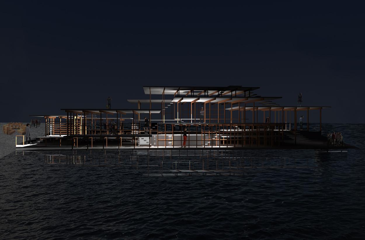 02 Restaurant Amsterdam zU-studio architecture NDSM Amsterdam