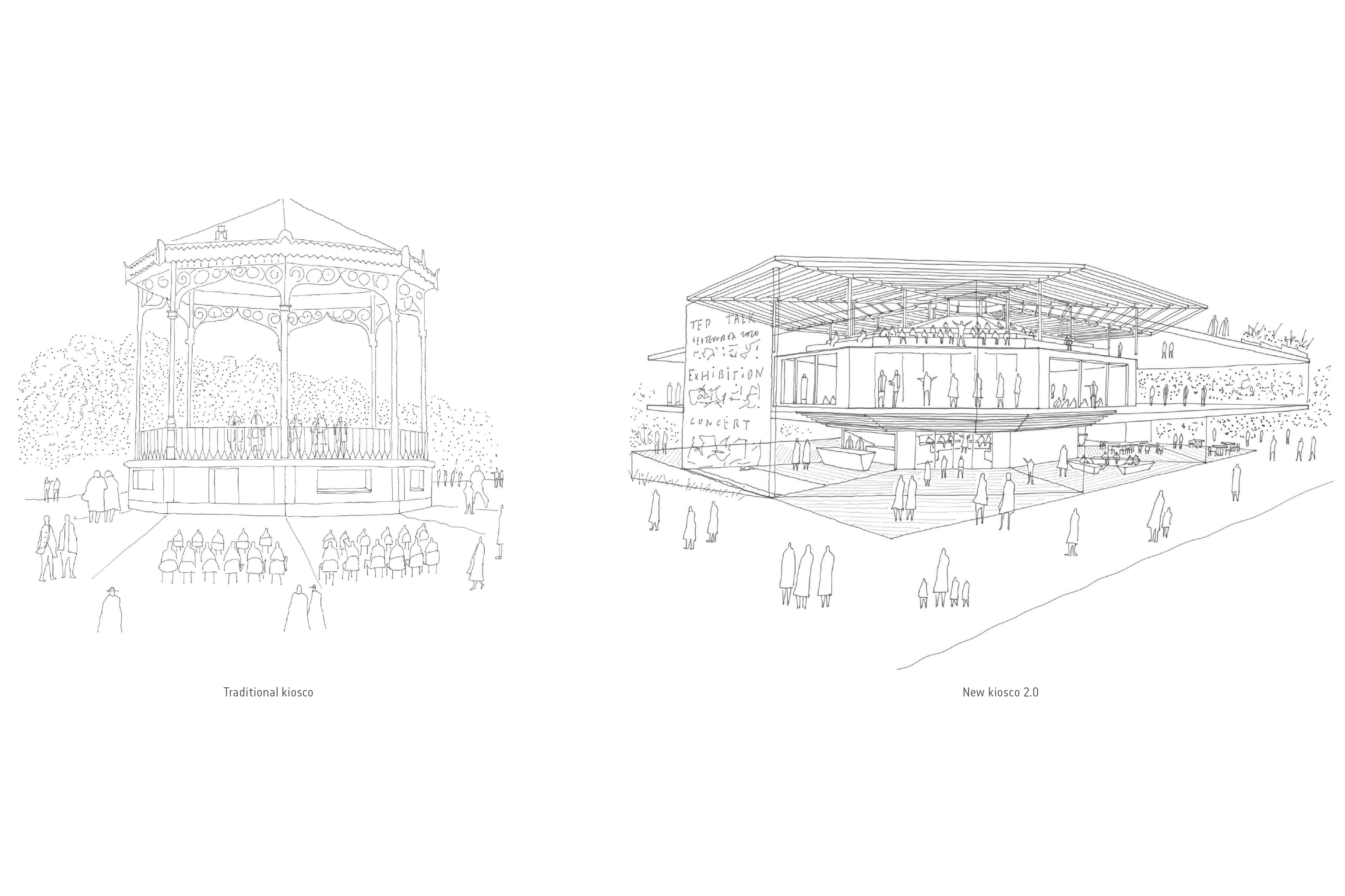 Cultural Centre Kiosco2 zU-studio architecture 01