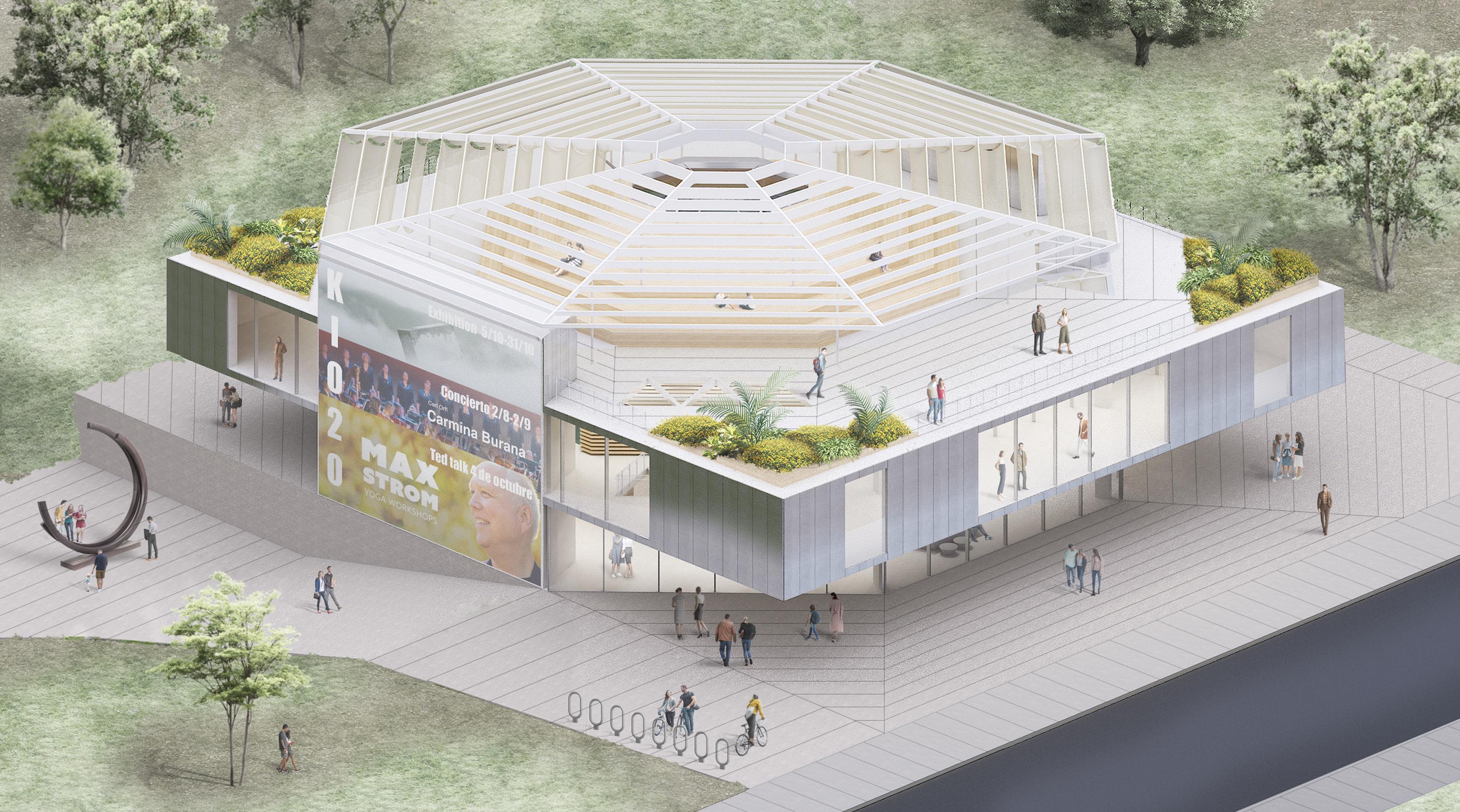 Cultural Centre Kiosco2 zU-studio architecture 07