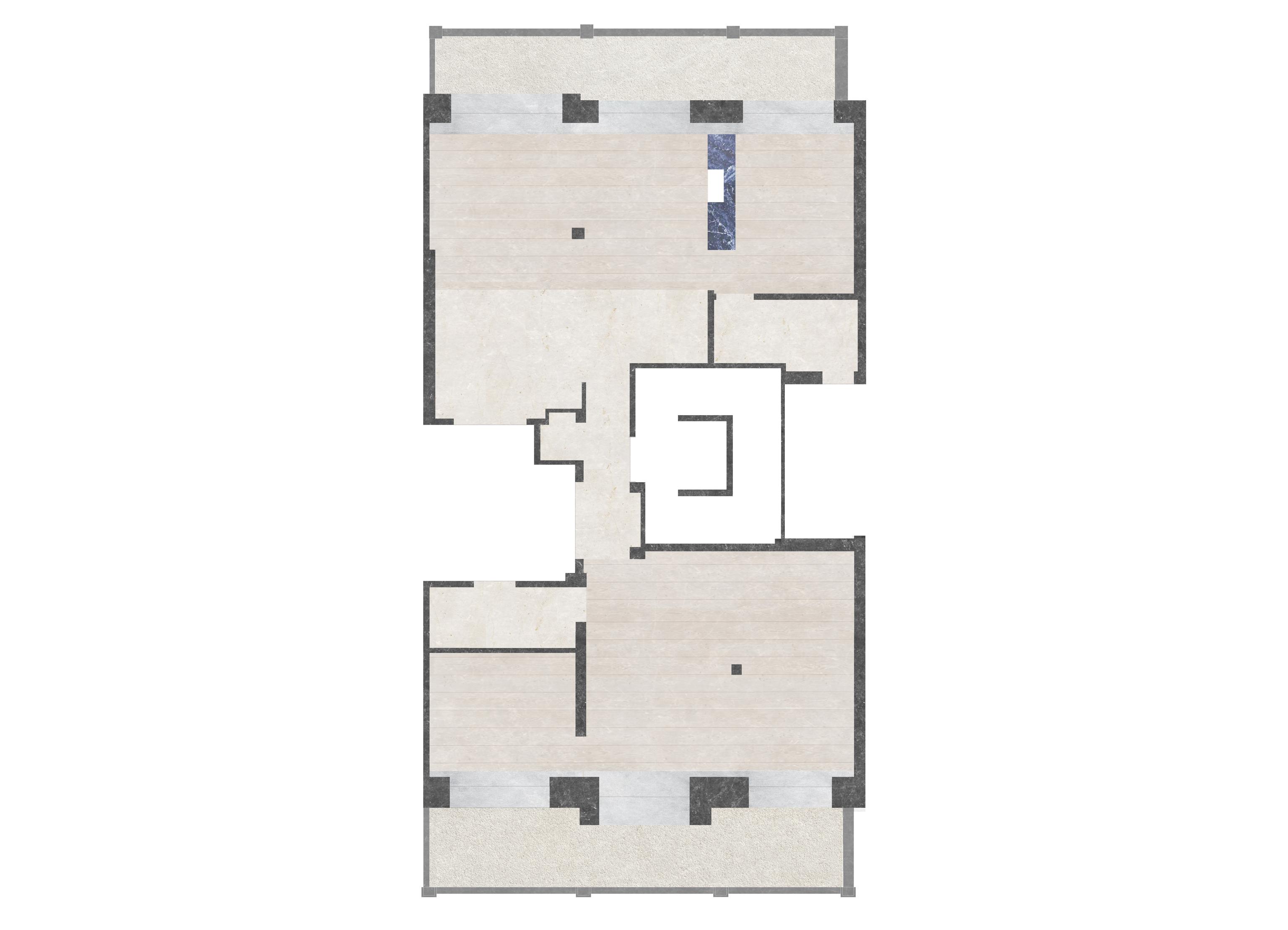 zU-studio architecture Floor Plan ZB52