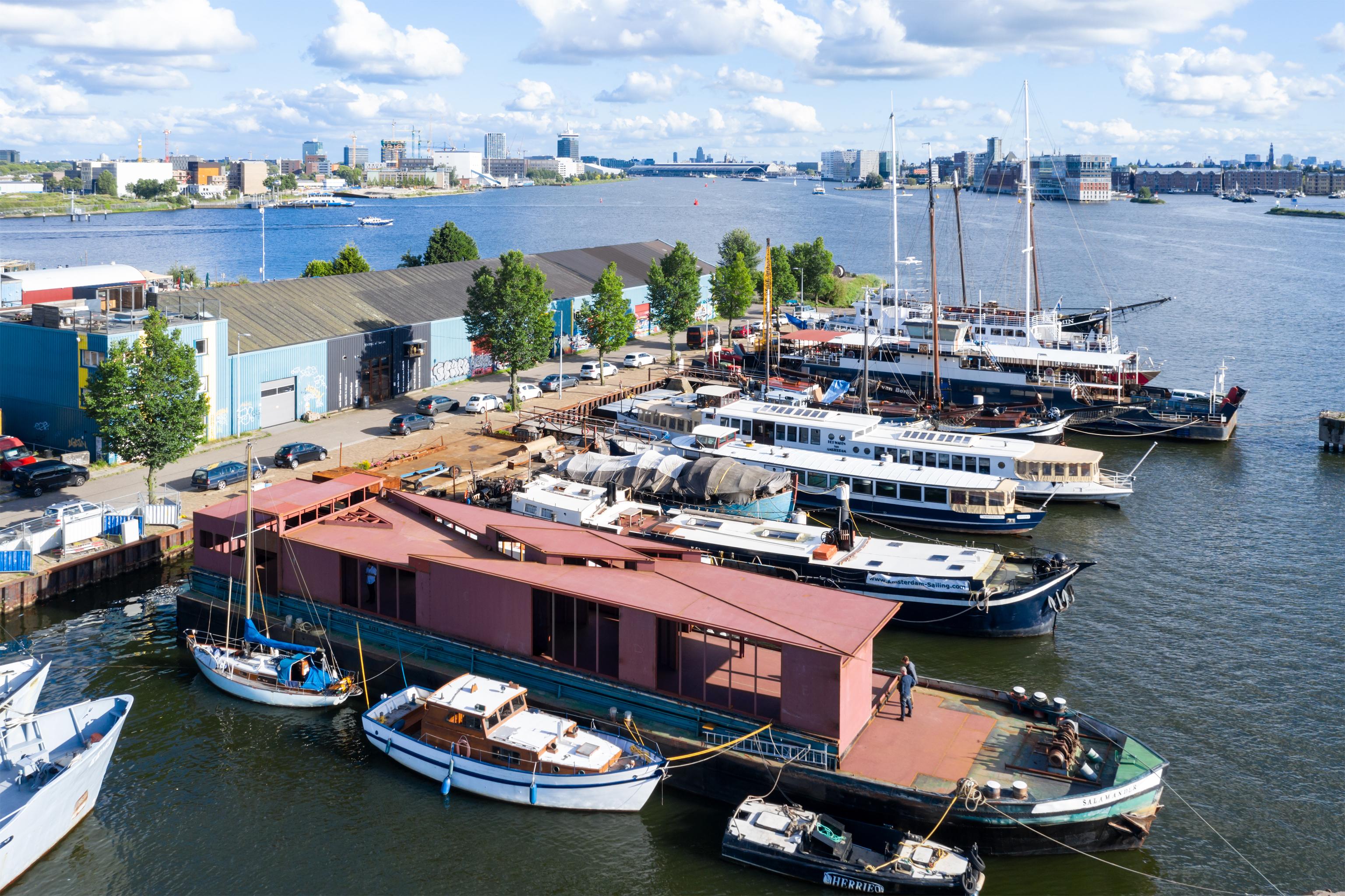 Visual 19 Floating Pavilion in Amsterdam zU-studio