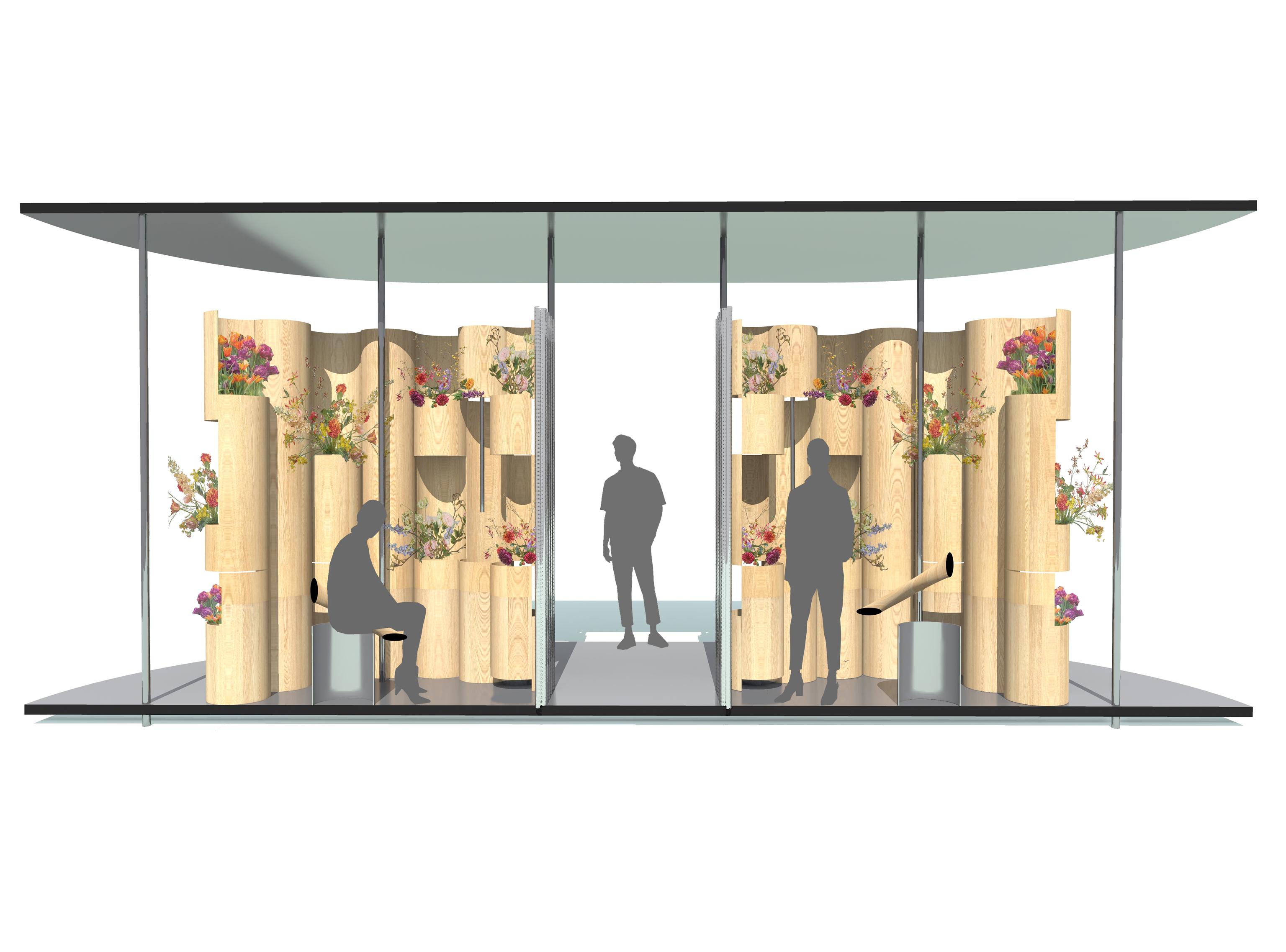 Public Toilets in Amsterdam zU-studio architecture Visual 03