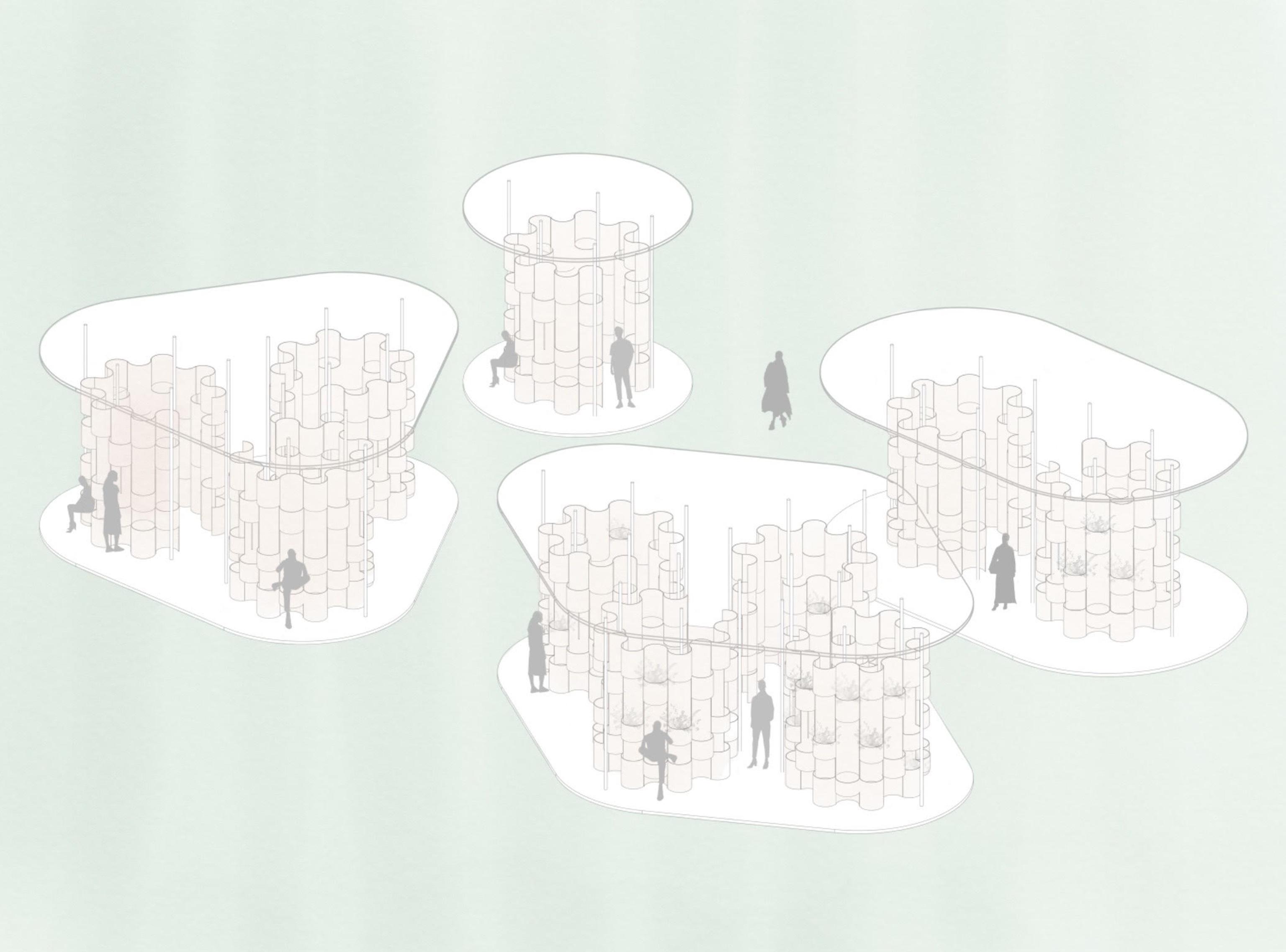 Public Toilets in Amsterdam zU-studio architecture Visual 05
